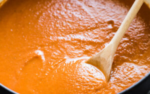 Protein Packed Creamy Tomato Soup